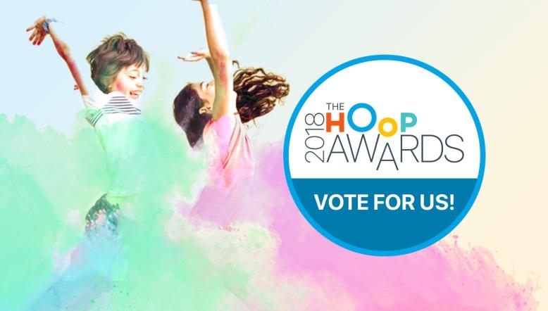 Hoop Awards 2018 - Vote for Us Facebook Artwork