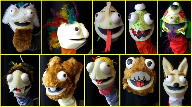 Workshop puppet montage